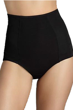 Lillie Hi-Waist Shapewear Briefs in Black or Nude
