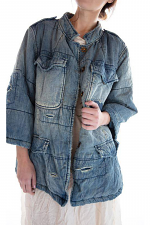 Cotton and Denim Love Militia Puff Jacket