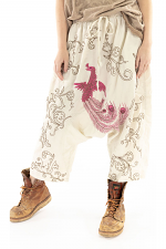 Dragon Embroidered Garcon Trousers