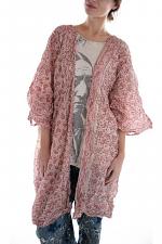 European Cotton Hand Block Print Kimono