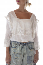 Lucia Lace Embroidered Blouse