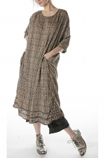 European Cotton Nara Smock Dress