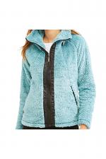 Women's Sherpa Fleece Full Zip Warm Winter Jacket