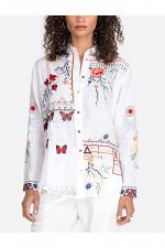 Aravis Paneled Oversized Shirt