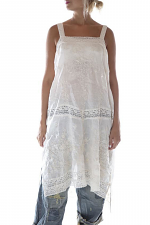 Linen Ramie Vivi Anne Embroidered Slip