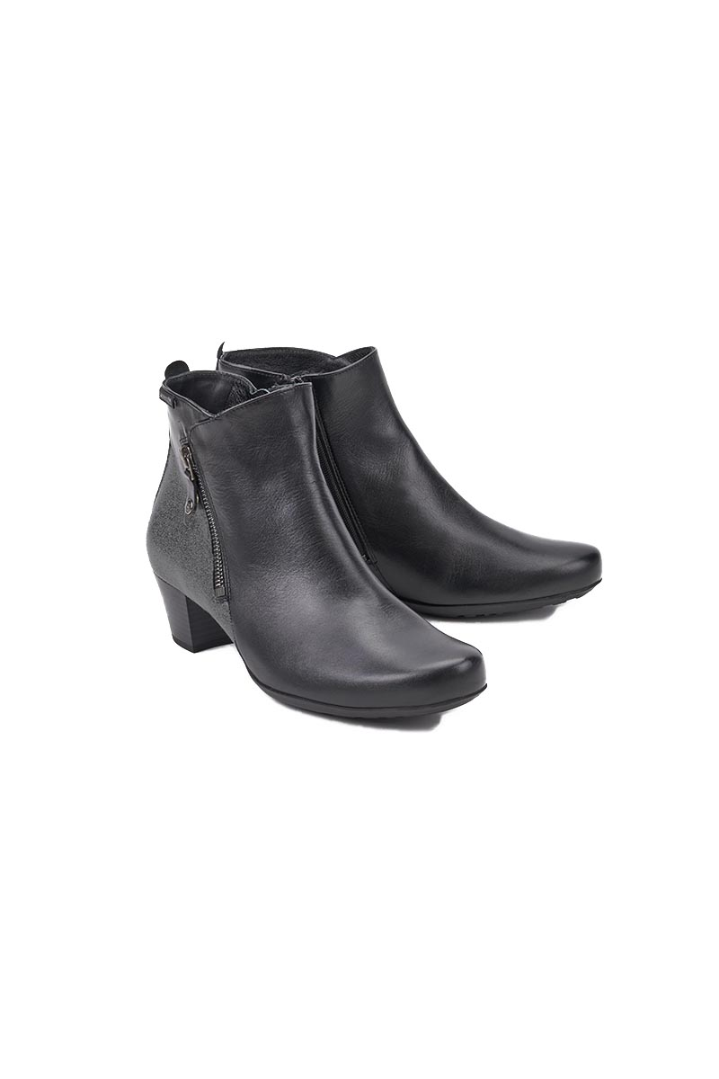 Short Boot Side Zip - Melodia