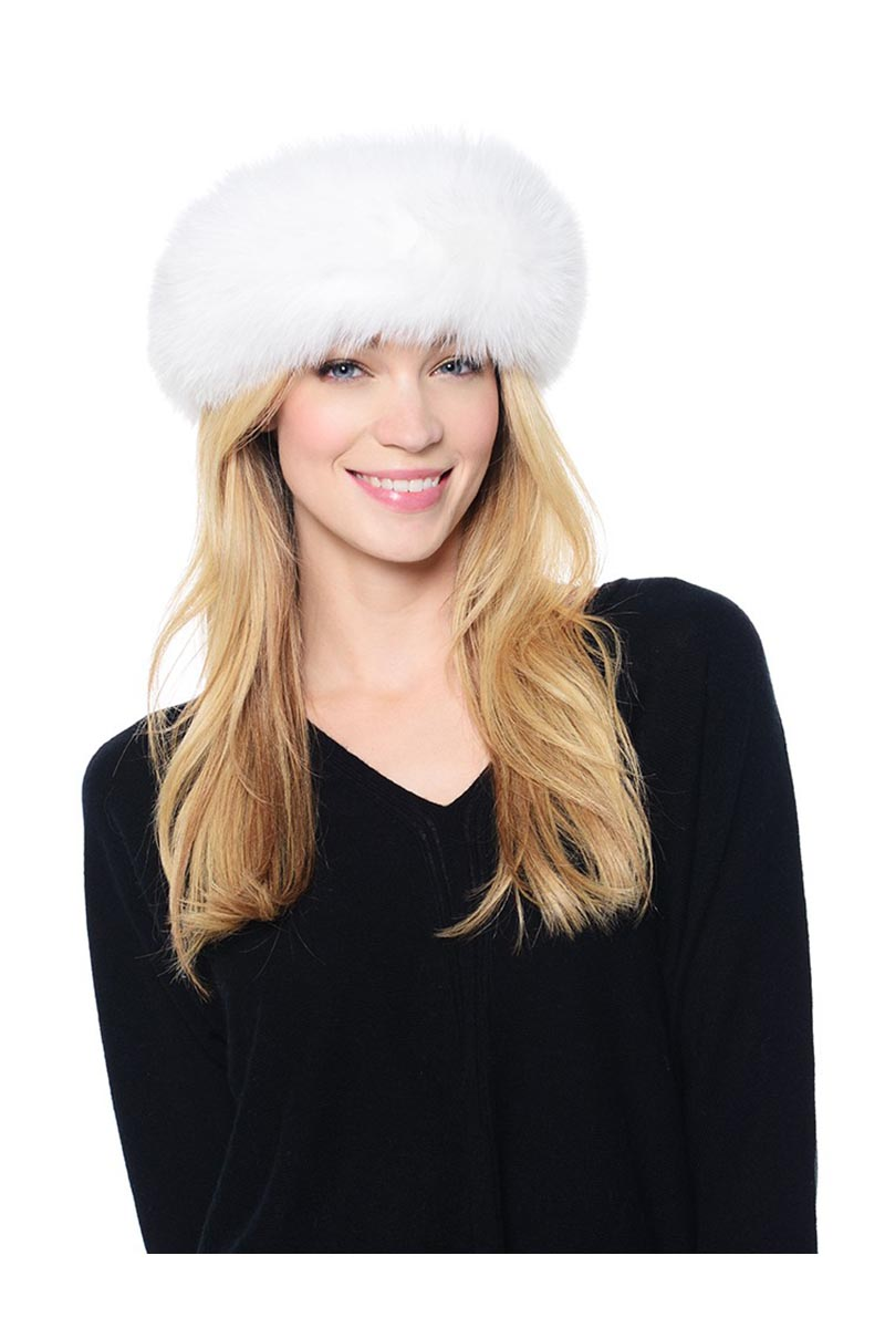 Mitch-Fox Headband in White