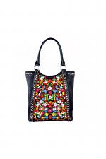 Embroidered Flowered Concealed Handgun Collection Handbag