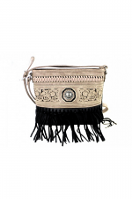 Fringe Collection Crossbody Bag