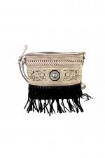 Fringe Collection Crossbody Bag