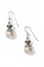 Alcazar Pearl Drop French Wire Earrings