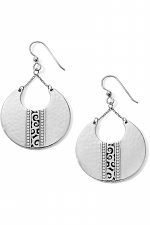 Mingle Disc Large French Wire Earrings