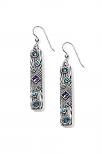 Halo Rays Bar French Wire Earrings