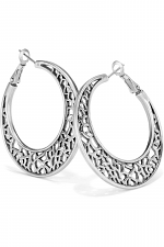 Fiji Sparkle Hoop Earrings
