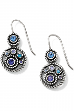 Halo French Wire Earrings