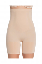 OnCore High-Waisted Mid-Thigh Short in Soft Nude