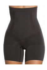 OnCore High-Waisted Mid-Thigh Short in Black