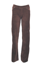 Stretch Corduroy Pants in Coffee Brown