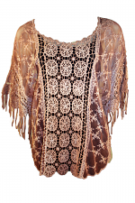 Crochet Top With Fringe