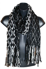 Knit Scarf in Black