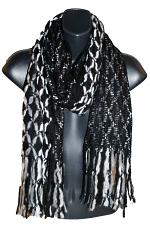 Knit Scarf in Black