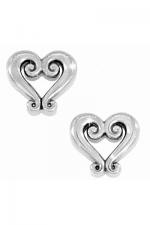 Genoa Heart Mini Post Earring