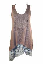 Lace And Stone Tank