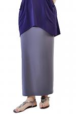 Maxi Skirt in Titanium Grey