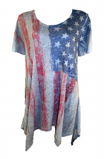 Flag Sublimation Top