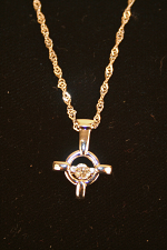 Cross With Crystal