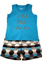 Boys 2PC Calvin Klein Short Set