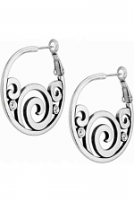 London Groove Hoop Earrings