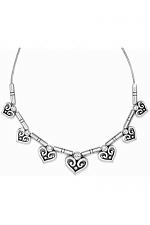 Alcazar Heart Collar Necklace