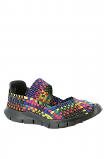 Kids Weaved Multi Color Shoe
