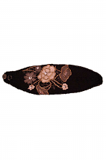 Headband With Applique Flowers