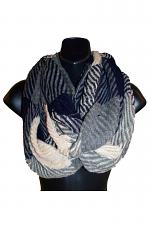 Infinity Scarf in Navy