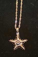 Starfish With Crystal