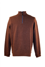 New Flip Side Pro Half Zip in Old Oak Heather