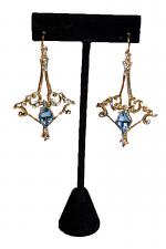 Frozen Castle Earrings