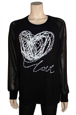 Sheer L/S With Love