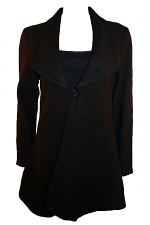 Coat With Button Closure