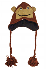 Knit Monkey Hat