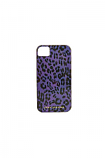 Wild Things Leopard Iphone Case In Royal Magenta