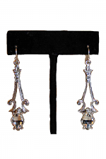 Frozen Palace Earrings in Clear