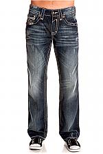 Mens Sebastian T3 Straight Leg Jeans