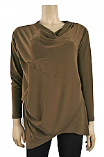 Long Sleeve Affinity Top in Mink