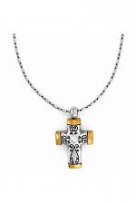 Venezia Petite Cross Necklace