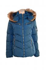 Down Jacket W-Fur Trim
