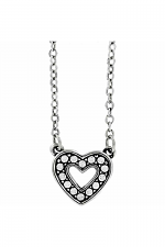 Starry Night Heart Necklace