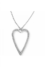Starry Night Uber Heart Long Necklace
